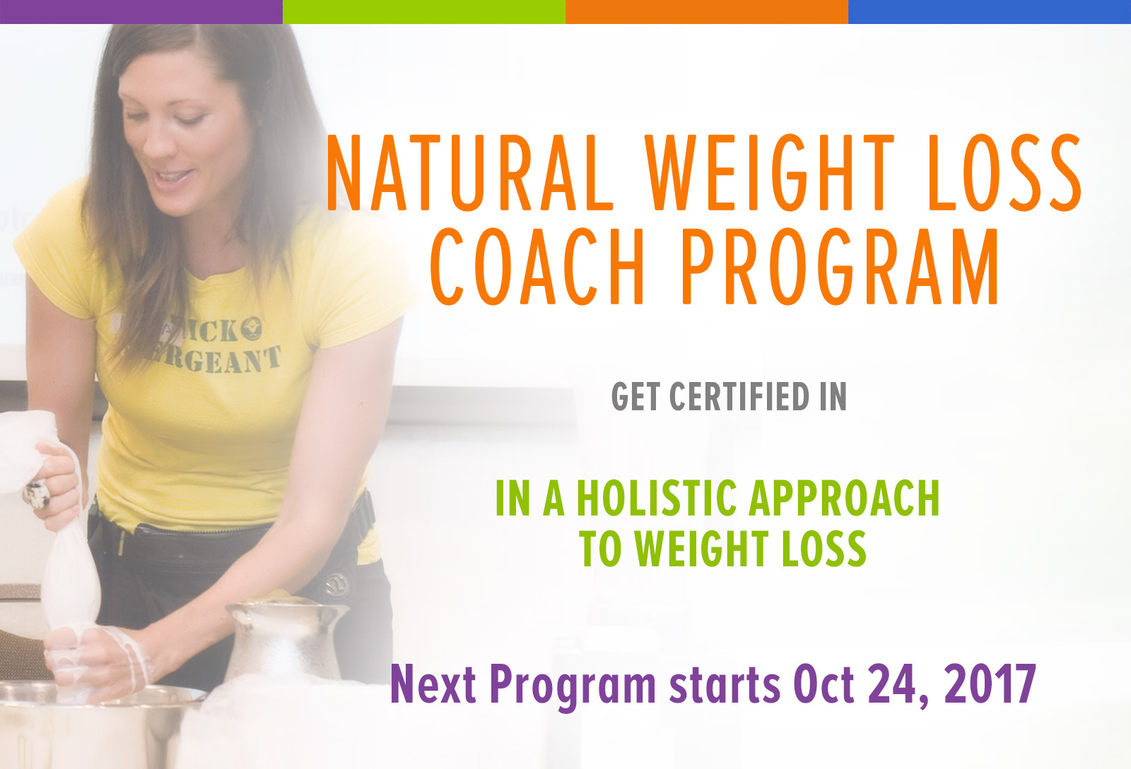 Sign Up To The Free Holistic Nutrition Weight Loss Expert Program Brochure 2018 Dates Receive Fit S News
