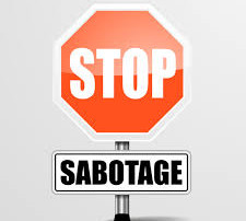 Stop Healthy Saboteurs!