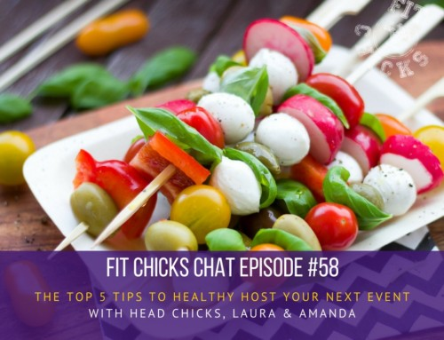 "EPISODE #58: Top 5 tips to ""Healthy Host"" your next event"