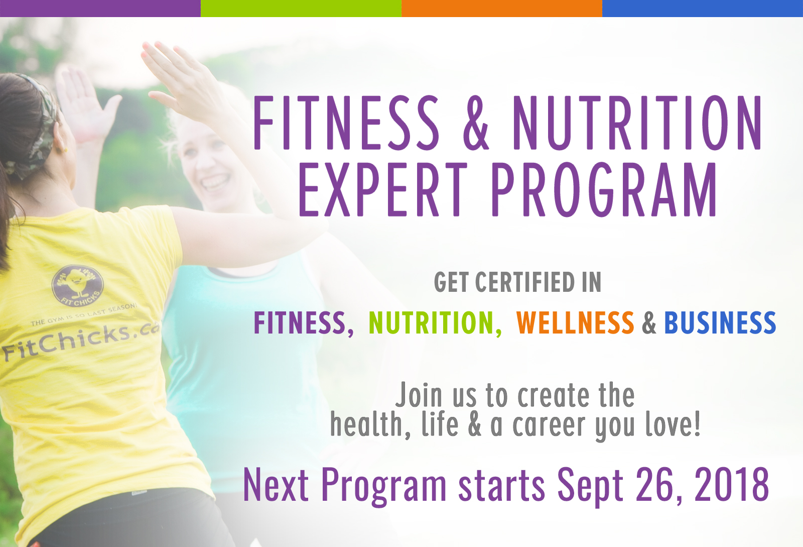 Fitness Nutrition Expert Program Fit Chicks Academy