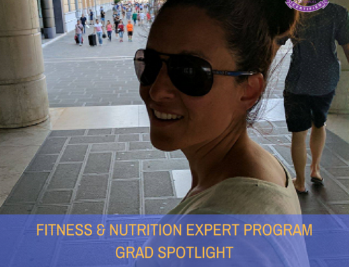 GRAD SPOTLIGHT: Chocolate Banana Squares from Fitness & Nutrition Expert Claudia Rulli!