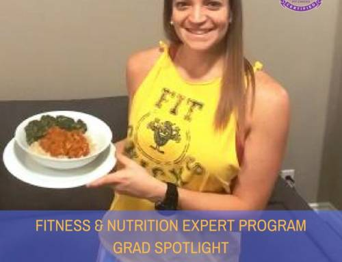 "GRAD SPOTLIGHT: Curry Chicken ""Superfit"" from Fitness & Nutrition Expert Student Karina"