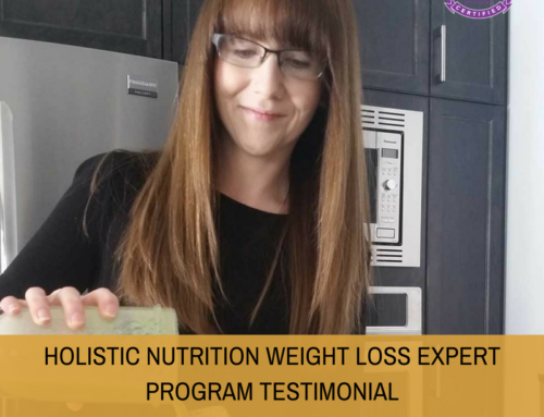 HOLISTIC NUTRITION WEIGHT LOSS EXPERT PROGRAM TESTIMONIAL:  Tropical Green Power Smoothie with HWLE student Miranda