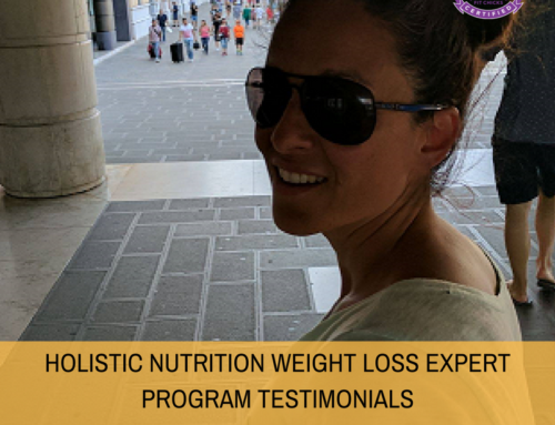 HOLISTIC NUTRITION WEIGHT LOSS EXPERT PROGRAM TESTIMONIAL:  Turbo Charge Smoothie with HWLE student Claudia