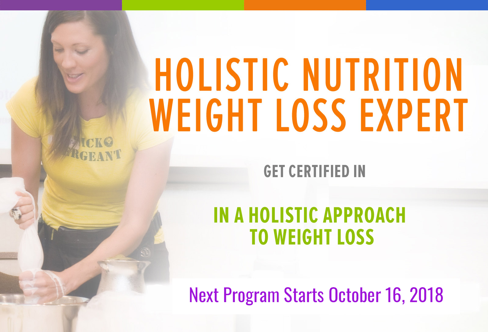 Holistic Nutrition Weight Loss Expert Fit Chicks Academy