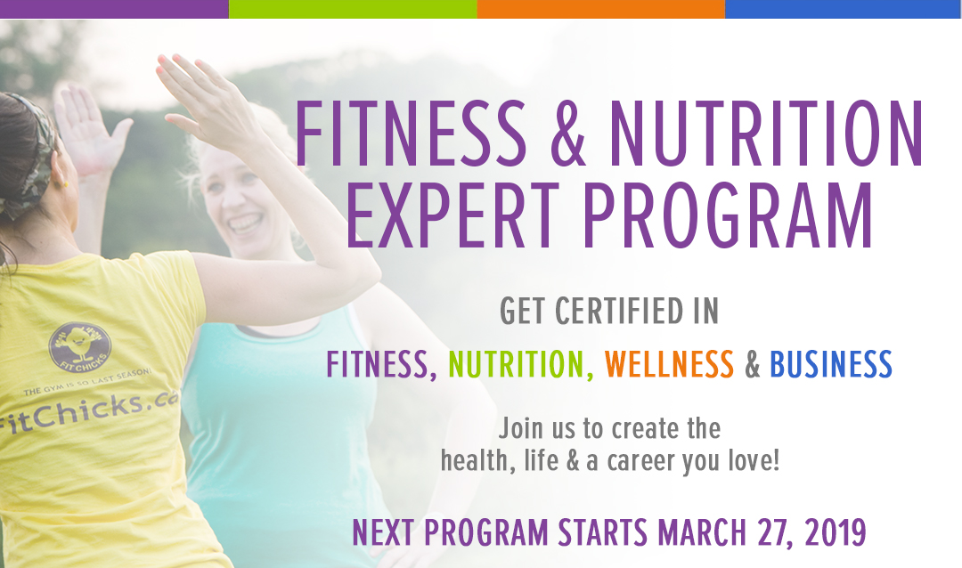 Fitness Nutrition Expert Program Starts March 27 2019 Fit
