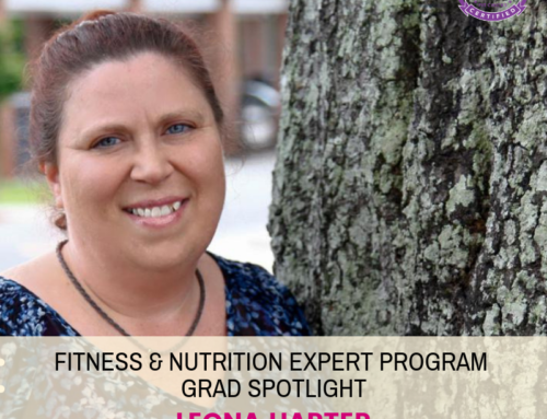 "GRAD SPOTLIGHT: ""Stuffed Bell Peppers"" with Fitness & Nutrition Expert Grad Leona Harter"