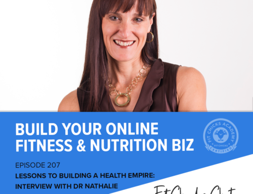 FIT CHICKS Chat Episode 207: Lessons to Building a Health Empire:  Interview with Dr Nathalie Beauchamp