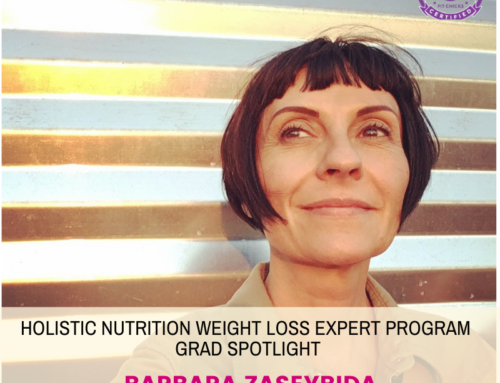 GRAD SPOTLIGHT: Green Giant Smoothie with Holistic Nutrition Weight Loss Expert Grad Barbara