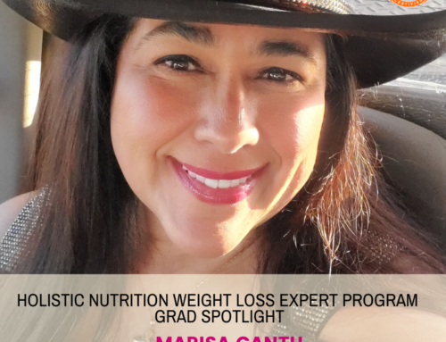 GRAD SPOTLIGHT: Extra Protein Green Smoothie with Holistic Nutrition Weight Loss Expert Grad Marisa Cantu