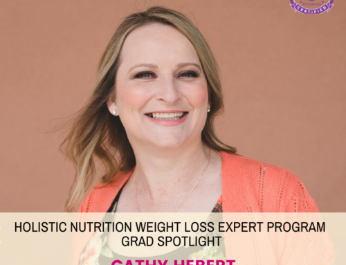 GRAD SPOTLIGHT: Blueberry Breeze Smoothie with Holistic Nutrition Weight Loss Expert Grad Cathy