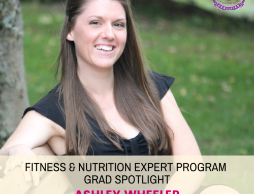 "GRAD SPOTLIGHT: ""Chicken and Spinach with Vegetable Cauliflower Rice"" with Fitness & Nutrition Expert Grad Ashley Wheeler"