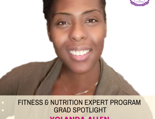 "GRAD SPOTLIGHT: ""Jerk Steak Burrito Bowl"" with Fitness & Nutrition Expert Grad Yolanda Allen"
