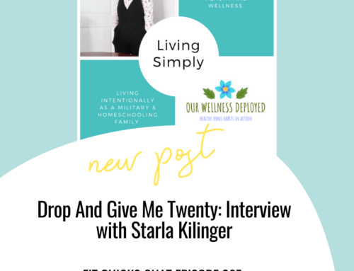 FIT CHICKS Chat Episode 307 – Drop And Give Me Twenty: Interview with Starla Kilinger