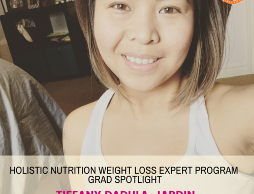 GRAD SPOTLIGHT: Good Morning Smoothie with Holistic Nutrition Weight Loss Expert Grad Tiffany Dadula-Jardin