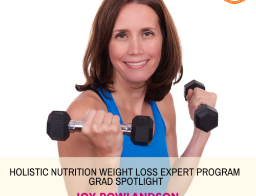 GRAD SPOTLIGHT: Avocado Explosion Smoothie with Holistic Nutrition Weight Loss Expert Grad Joy Rowlandson