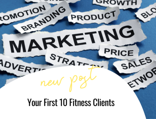 FIT CHICKS Chat Episode 329 – Your First 10 Fitness Clients