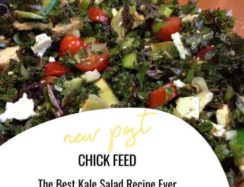 Chick Feed: The Best Kale Salad Recipe Ever