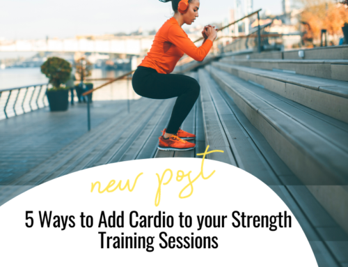 FIT CHICKS Chat Episode 326 – 5 Ways to Add Cardio to your Strength Training Session