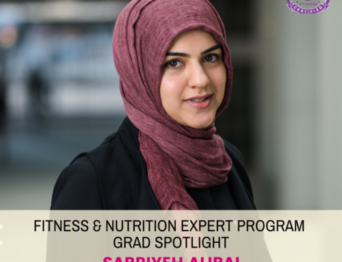 "GRAD SPOTLIGHT: ""Protein Oat Mini Banana Muffins"" with Fitness & Nutrition Expert Grad Sabriyeh Alibai"
