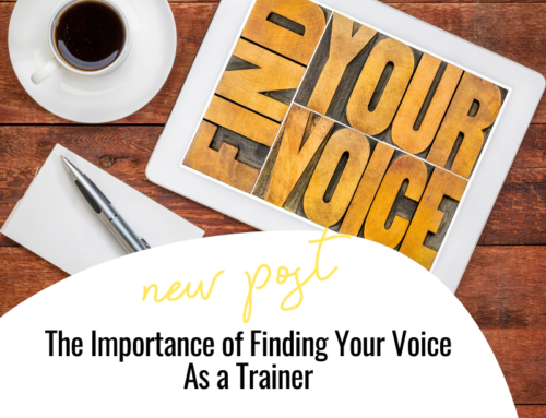 FIT CHICKS Chat Episode 334 -The Importance of Finding Your Voice As a Trainer