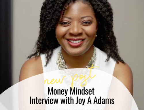 FIT CHICKS Chat Episode 342 – Money Mindset Interview with Joy A Adams