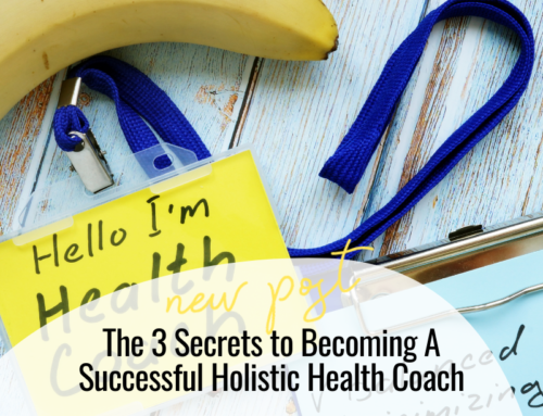 FIT CHICKS Chat Episode 344 – The 3 Secrets to Becoming A Successful Holistic Health Coach