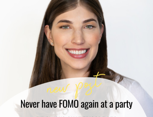 FIT CHICKS Chat Episode 356 – Never have FOMO again at a party