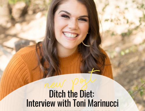 FIT CHICKS Chat Episode 355 – Ditch the Diet: Interview with Toni Marinucci