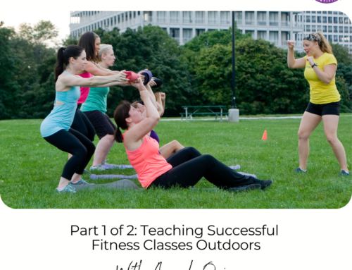 FIT CHICKS Chat Episode 384 – Part 1 of 2: Teaching Successful Fitness Classes Outdoors