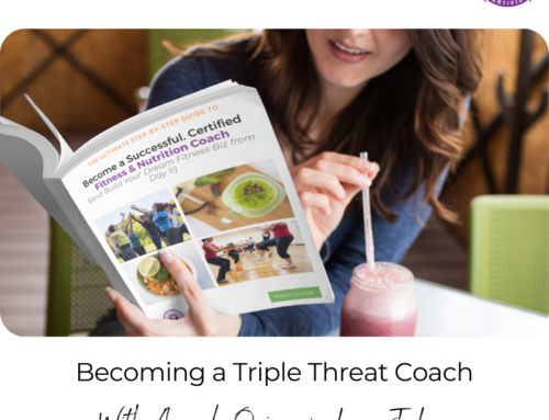 FIT CHICKS Chat Episode 395 – Becoming a Triple Threat Coach