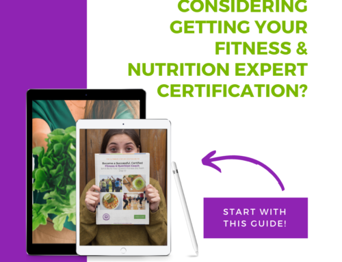 (FREE GUIDE) The Ultimate Step-by-Step Guide For Women To Become Successful, Certified Fitness & Nutrition Expert in as Little As 90 Days!