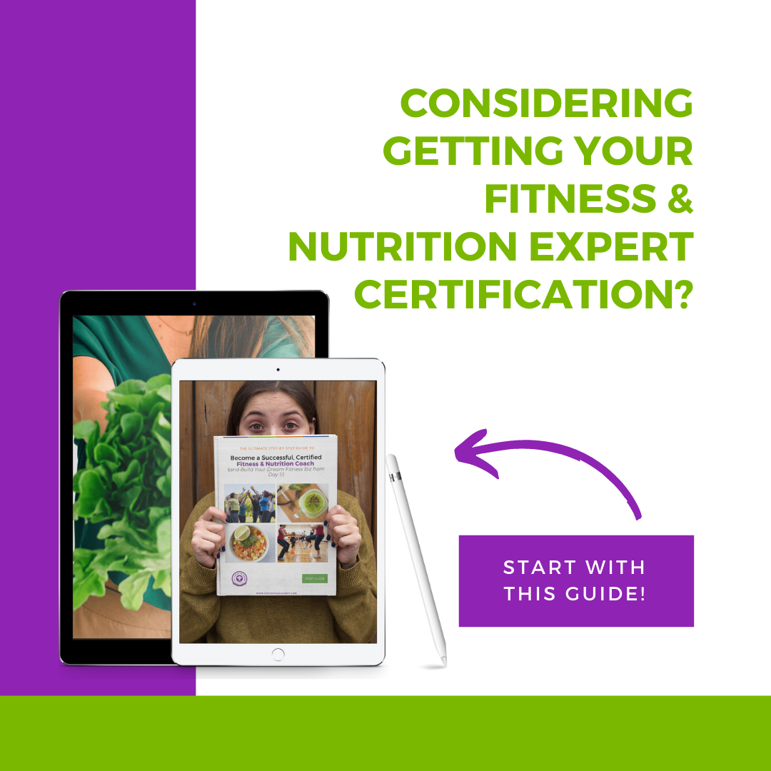 fitness & nutrition certification guide